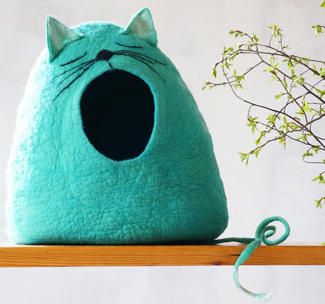 creative cat bed