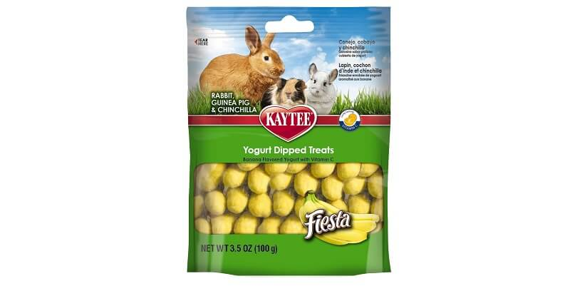 Kaytee Fiesta Banana Flavor Yogurt Dipped Treats