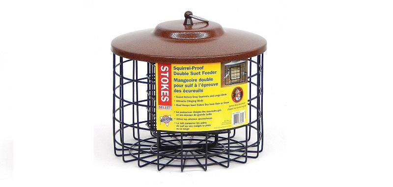 Stokes Select Squirrel proof double suet bird feeder