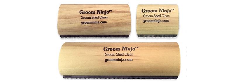 Groom Ninja Cat Brush