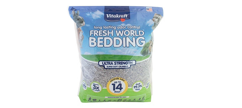 Vitakraft Fresh World Ultra Strength Crumble Bedding