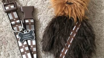 Chewbacca dog collars