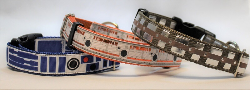 Star Wars inspired - Droids and Wookiees - Dog Collar