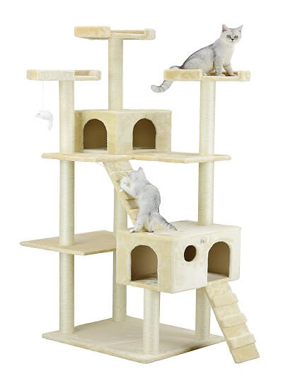 Cat tree as a gift