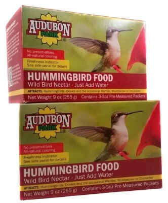 Audubon hummingbird food