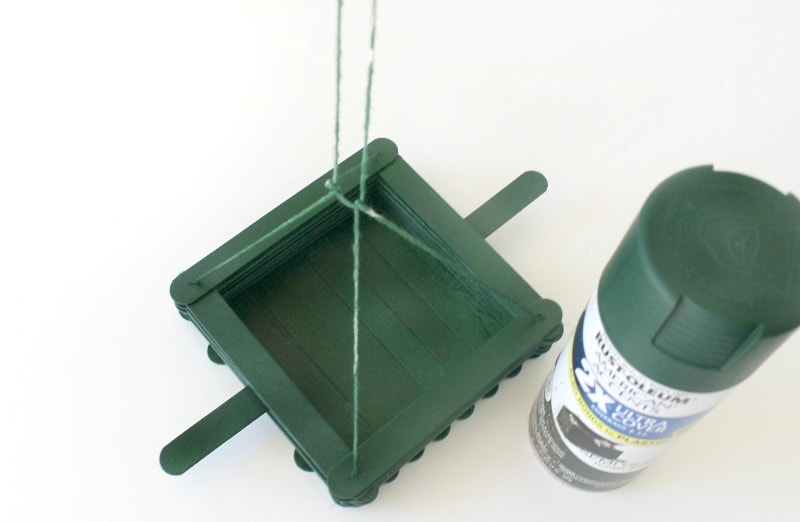 DIY Bird Feeder - step 12