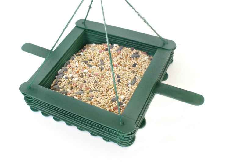 DIY Bird Feeder - step 13