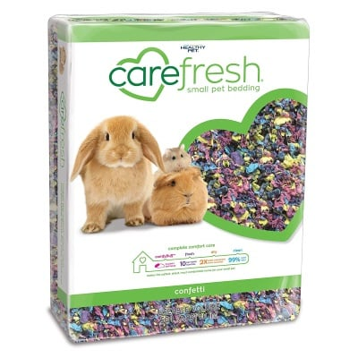 Carefresh Confetti Bedding for guinea pigs
